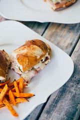 The Pretzel Cuban Sandwich