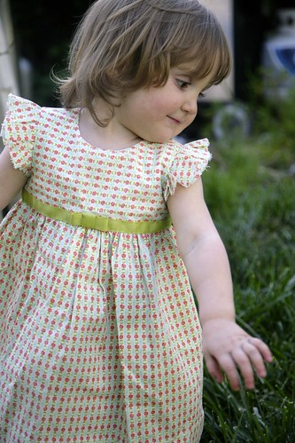 Geranium Easter Dress