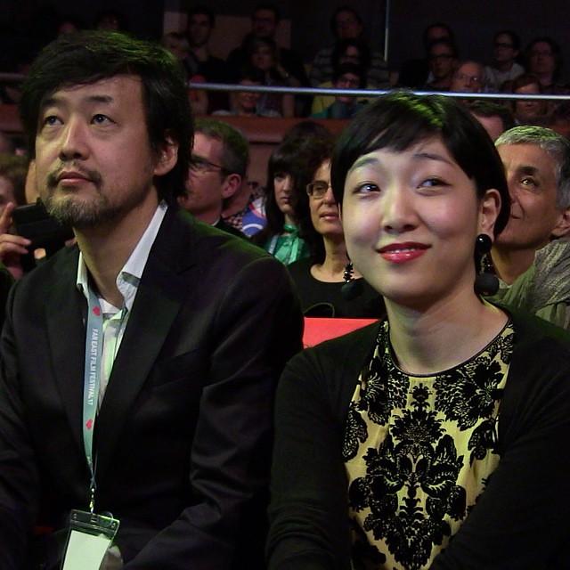 Takashi Yamazaki & Sakura Ando at #FEFF17