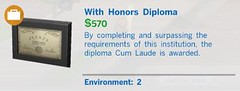 With Honors Diploma