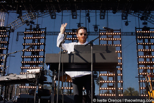 Chet Faker @ Coachella 2015 Weekend 2 - Saturday