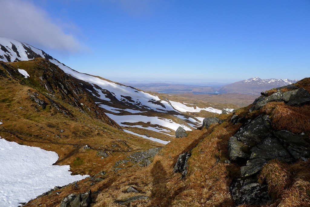 Towards Loch Awe and Cruachan