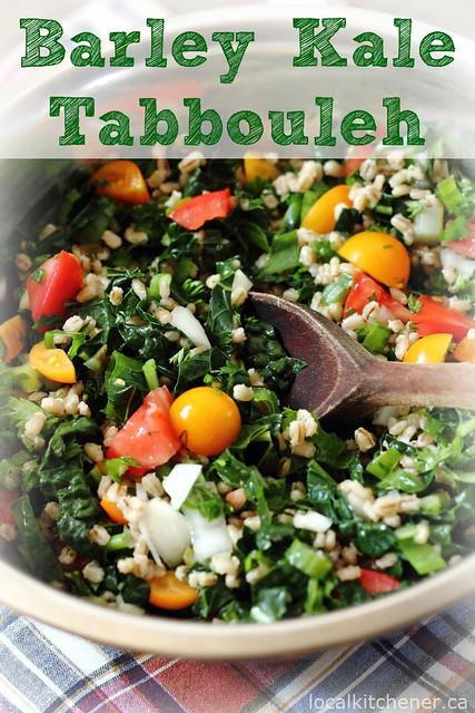 barley kale tabbouleh