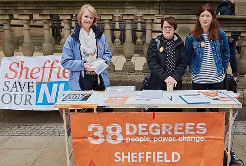 Save our NHS campaigning Sheffield
