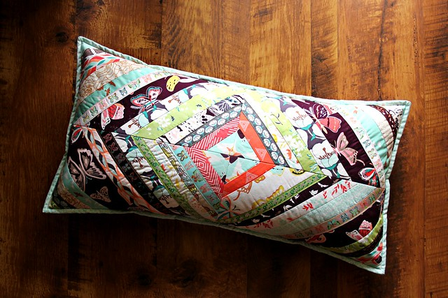 Diamond Strinsg Pillow with Ribbons!