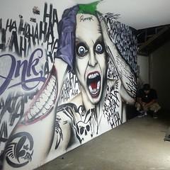 @inkhousepzo ... creelo o crealo se diferente .... @andresrouga @rafaacosta_20 @donaldobarros .... #ccs #caracas #mtn2015 #mtn #montanacolors #galeria #art #artevenezuela #artedecalle #venezuela #sigueintentandolo #murgrav #tunolotienes #streetart #murals