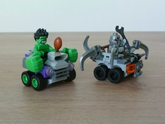 LEGO MARVEL SUPER HEROES 76066 Mighty Micros Hulk vs Ultron