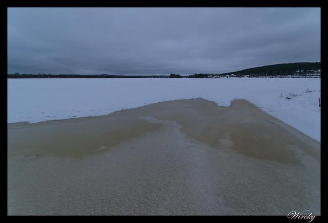 Laponia Rovaniemi iglú cristal cena salmón kota - Río Kemi semicongelado
