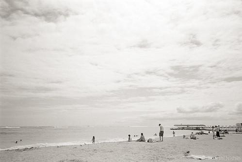 afternoon beach