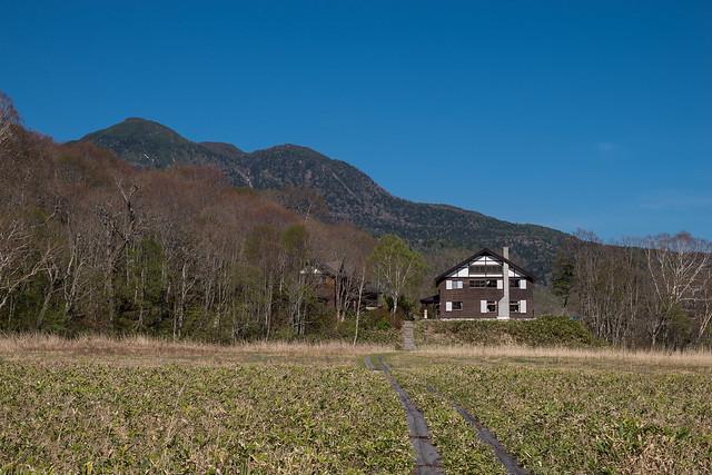 東電小屋と燧ケ岳