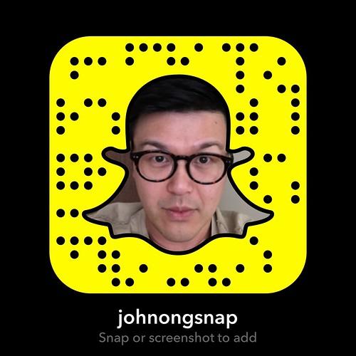 Snapchat: JohnOngSnap