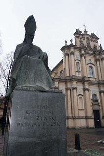 Memorial to Cardinal Wyszynski