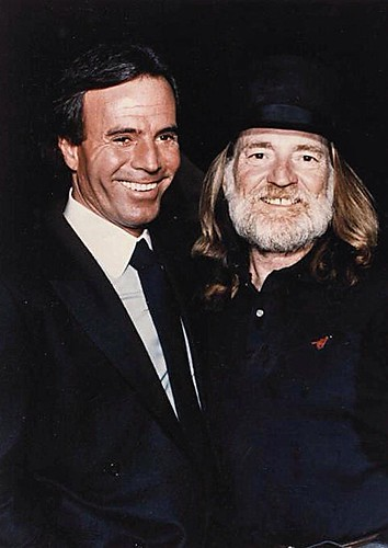 Image result for julio iglesias and willie nelson