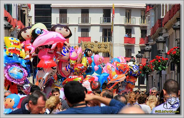 Semana Santa en Málaga. La Alameda y Calle Larios (10)