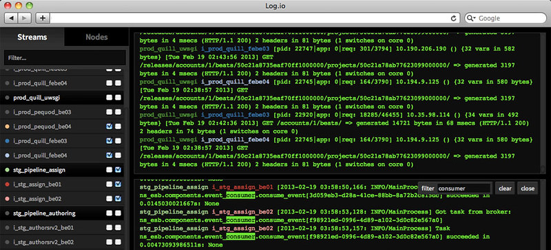 What are good open-source log monitoring tools on Linux