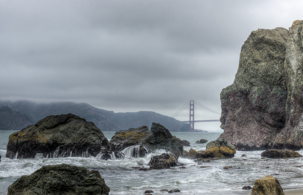 Golden Gate Rocks