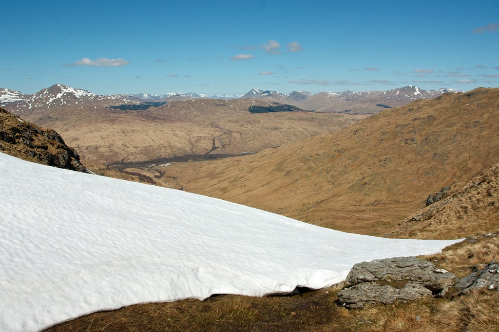 Glen Falloch and the Bridge of Orchy Hills