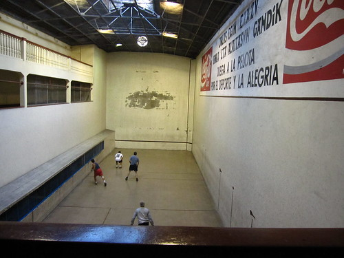 fronton, ball-court atEuskaro Basque club, Montevideo, Uruguay