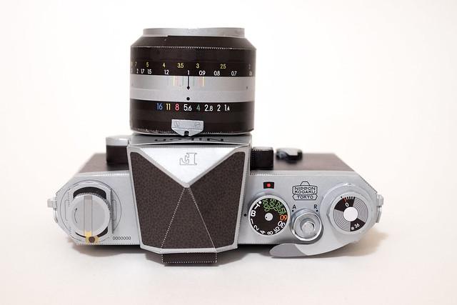 Nikon F Papercraft-4