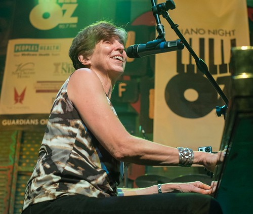 Marcia Ball at Piano Night. Photo by Marc PoKempner