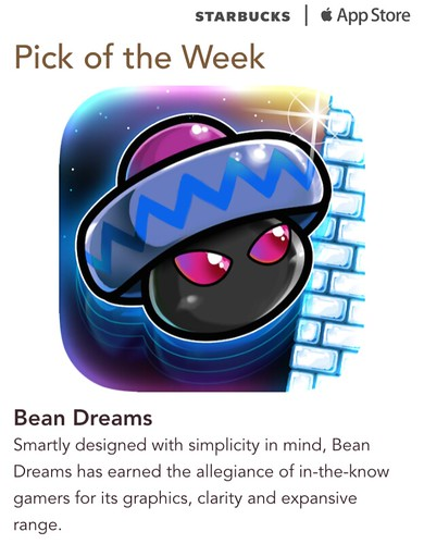 Starbucks iTunes Pick of the Week - Bean Dreams