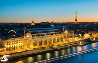 Tour Eiffel et Musée d'Orsay