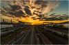 Railway Into The Sun