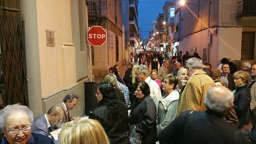Presentació llibre Revoltats a Calella amb Justo Molinero