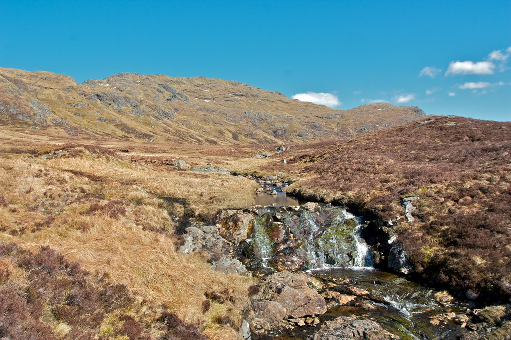 Ben Glas Burn and Beinn Chabhair