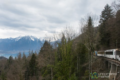 Cheese Train from Montreux to Chateau d'Oex - Switzerland