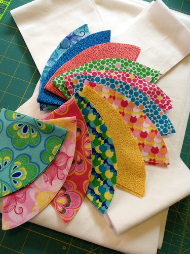 Spring Bloom fabrics by Amanda Coronia for Windham