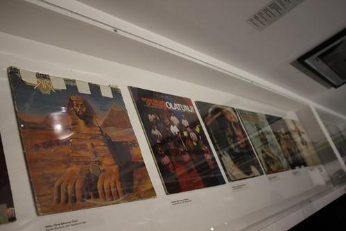 Vinyles - Exposition Hip Hop, du Bronx aux rues arabes (Institut du monde arabe)
