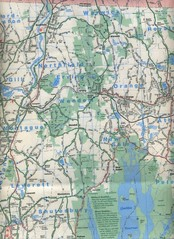 Cycling Map Wend Warw016