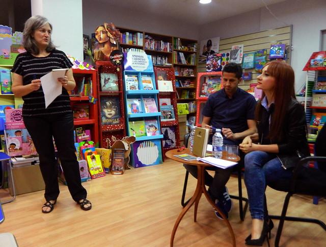 Presentación de Monopolios en la Librería Senda Perruca de Teruel