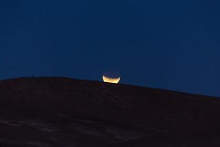 Another view of Moon Eclipse - october 2014 - Atacama Desert