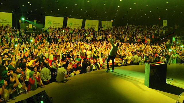 Üsküdar Üniversitesi, Mustafa Ceceli ile unutulmaz bir gece yaşadı 2