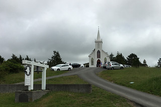 Bodega Bay - St Theresa Church front