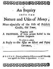 An Inquiry into the Nature and Uses of Money