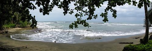 Cahuita: Playa Negra, une plage de sable noire à deux pas de notre hôtel