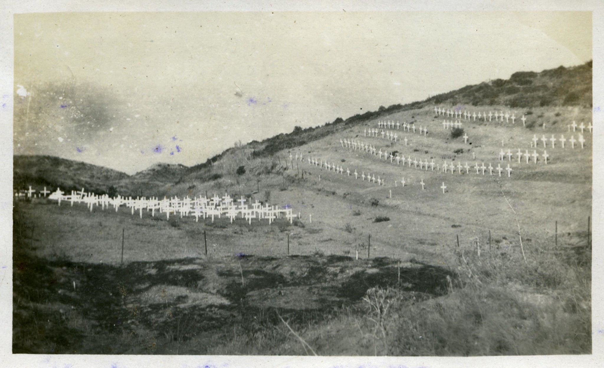 ANZAC graves at Browns Dip cemetery, Gallipoli Peninsula  Flickr - Phot...