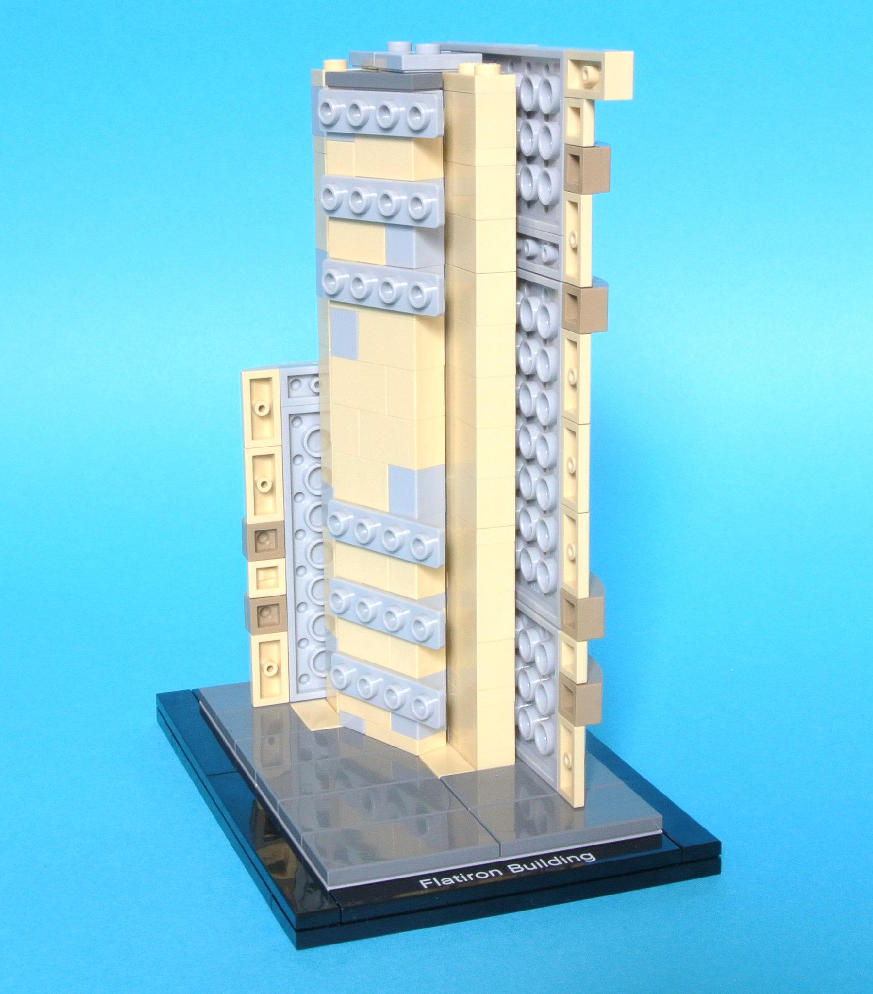 Lego Flatiron Building Karton