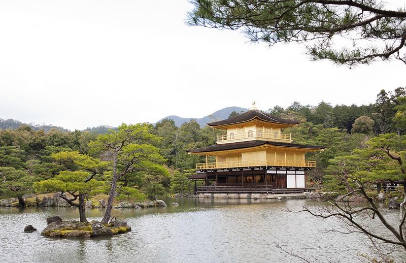 Kinkaku-ji, Golden temple, Kyoto, Japan_IMG_5090