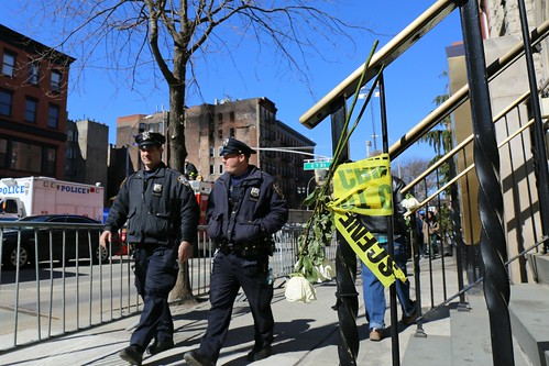 East Village Explosion: Aftermath, NYPD