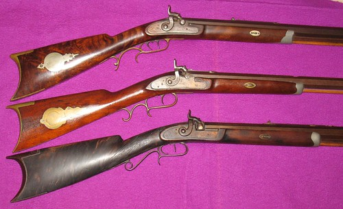 Three A. S. Osborn Rifles - Made In Rockford, Illinois