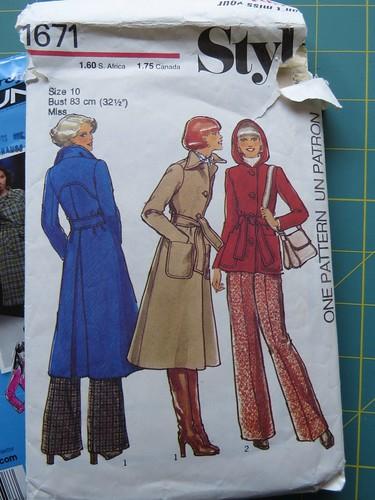 wip: Spring Jacket 2015