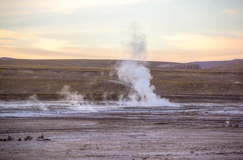 chile landscape chili geyser geysir hdr altiplano calama sanpedrodeatacama antofagasta géiser photomatix tonemapped tonemapping geisersdeltatio