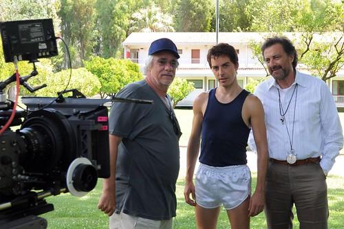 la Freccia del Sud (Ricky Tognazzi, Michele Riondino e Luca Barbareschi)