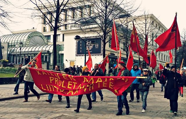 Kommunistien vappumarssi 2015