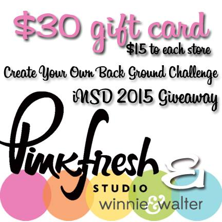 iNSD 2015 Background Giveaway