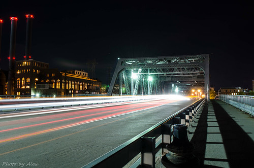 POINT STREET BRIDGE by Alex Tao Wang, via I {heart} Rhody